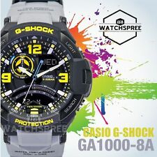 Casio G-Shock Aviation Series Gravity Defier Twin Sensor Watch GA1000-8A