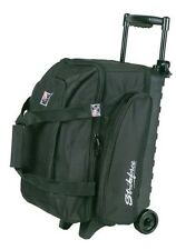 KR Eliminator Black 2 Ball Roller Bowling Bag