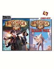 Bioshock Infinite+Season Pass Bundle Steam Key Pc Game Global [Blitzversand]