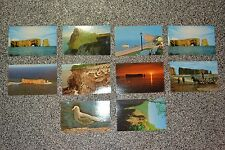 VTG UNIC Montreal Wave Cut PostCards SET Perce Quebec Canada Bonaventure Photos