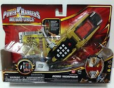 Power Rangers Megaforce ROBO MORPHER Phone Sounds retired 2012 super gold knight