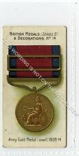 (Ga5924-372) Taddy, British Medals & Decorations II, #14 Army 1808-14 1912 G-VG