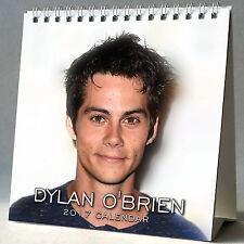 Dylan O'Brien Desktop Calendar 2017 NEW The Maze Runner Thomas Teen Wolf Stiles