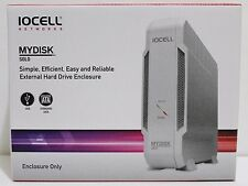 IOCELL Mydisk Solo External Hard Drive Enclosure USB 2.0 For SATA Drive NIB