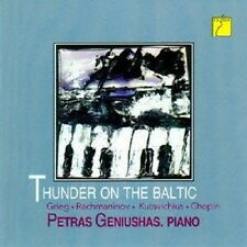 P.GENUISHAS - GRIEG/CHOPIN/RACHMANINOFF/+: THUNDER ON THE BALTIC  CD NEU