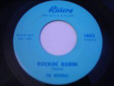The Rivieras Rockin' Robin 1964 45rpm VG++ GARAGE