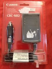 Canon CBC-NB2 Car Battery Charger Video Camera for NB-2L or BP-2F12 batteries oe