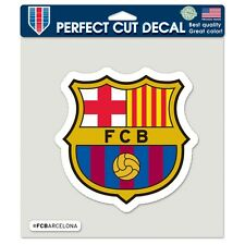 "FC Barcelona Official Soccer 8"" x 8"" Die Cut Car Decal Barca by Wincraft"
