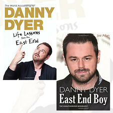 Danny Dyer Biographies Collection 2 Books Set,The Unauthorized Biography, NEW HB