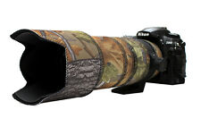 Sigma 70 200mm OS Neoprene lens protection & camouflage coat cover English Oak