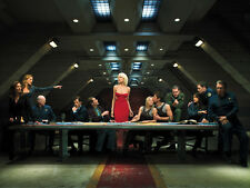 TV Poster BATTLESTAR GALACTICA LAST SUPPER 32X24 Poster