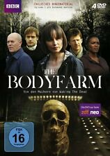 4 DVDs *  THE BODY FARM - Tara Fitzgerald  # NEU OVP &