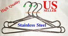 "24 pcs 16"" Large Stainless Steel Clothes Coat Tubular Hangers WHOLESALE PRICE"