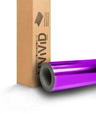 Purple Chrome Vinyl Car Wrap Film Air Release PCR5M01 5ft x 75ft 375sq ft