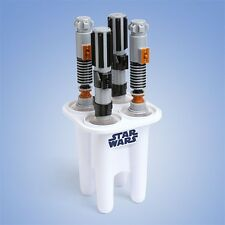 STAR WARS GLOWING LIGHT UP 4 LIGHTSABER ICE POP POPSICLE MAKER LUKE DARTH VADER