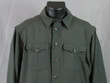 Men's TRAVELSMITH Green Vented Safari Big Game Hunting Jacket + Zipout Vest - M