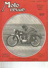 "MOTO REVUE N°1.092 TOURIST TROPHY / 125 GILERA ""SPORT"" / FREINAGE / INDIAN SCOUT"