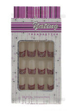 24 FAUX ONGLES PRET A POSER MANUCURE  ONGLERIE PETERANDCLO 1873