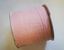 20 Meters Organza Ribbon - 3mm - Light Antique Soft Pink