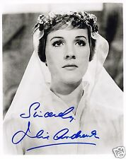 JULIE ANDREWS AUTOGRAPH SIGNED PP PHOTO POSTER