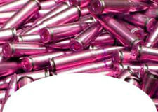 20 pink bullets  Art Stickers French  Tip Decal Manicure DIY Decorations