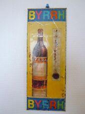 Thermomètre glacoïde publicitaire BYRRH imprimerie Boutaux Paris made in France