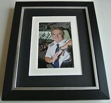 Mike Bannister SIGNED 10x8 FRAMED Photo Autograph Display Chief Concorde & COA