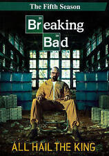 Breaking Bad: The Fifth Season 5 Five (DVD, 2013, 3-Disc Set) - NEW!!