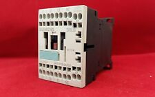 SIEMENS SIRIUS 3RT1015-2AP02 3 POLE CONTACTOR 3KW 230V COIL