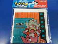 Pokemon Gold and Silver Vintage Rare Birthday Party Favor Treat Sacks Loot Bags