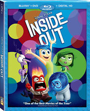 Disney's Inside Out New SEALED DVD, Blu-Ray, Digital File,w/Slip Cover FREE SHIP