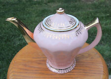 Hall China ALBANY Teapot....PINK GOLD LABEL...downsizing PREMIER collection!