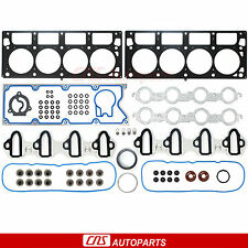 Engine Cylinder Head Gasket Set 02-08 GM VORTEC 4800 4.8L 5300 5.3L GMT IST L/D