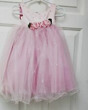Flower Girl Dress by Sweetie Pie/Peau Satin Bodice withTulle Skirt size12 mo.