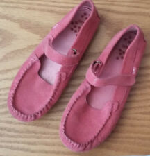 ~L@@K- RARE Girls Pink/Coral Umi Moraine Shoes Mary Janes Loafers US 2 & EUR 34~