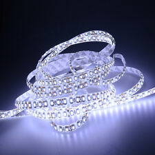 5M Super Bright Cold White Waterproof 3528 SMD 600 LED Flexible Strip light 12V