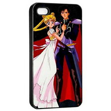 Sailor Moon Apple iPhone 4/4s Seamless Case (Black) Fashion HOT NEW Gift