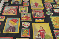 FUN VINTAGE SCREEN PRINT WITH MASTERPIECES OF ART - BLOOMCRAFT RR123
