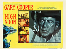 "High Noon 1952 16"" x 12"" Reproduction Movie Poster Photograph"