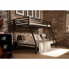 Twin Over Full Metal Bunk Bed Cheap Bunk Beds Black