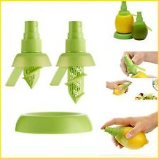 2pcs/set Lemon Juice Sprayer Citrus Spray Mini Squeezer Hand Juicer Free shippin