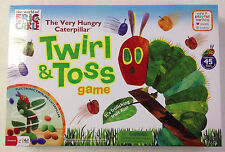 VERY HUNGRY CATERPILLAR TWIRL & TOSS GAME ERIC CARLE FUN KIDS UNIVERSITY GAMES