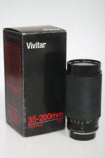 Vivitar 35-200 f3-4.5 Macro Zoom Lens Olympus Mount