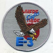 US Air Force E-3 Where Eagles Dare Color Patch