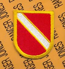 US Army 21st Engineer Bn Air Assault 3 STB 101st Airborne beret flash patch c/e