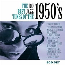 THE 100 BEST JAZZ TUNES OF THE 1950'S (NEW CD)