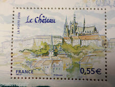 FRANCE, 2008, timbre 4304 CAPITALES EUROPEENNES, PRAGUE, CHATEAU, neuf**, MNH