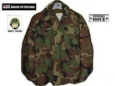 US Army M65 Jacket Field Reforger woodland camouflage STUDENT XSmall XShort