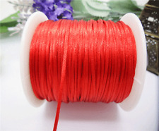 NEW 70 yards Satin Rattail Cord 1mm shamballa nylon macrame kumihimo string EL04