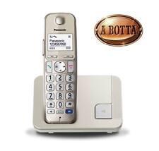 Telefono cordless Panasonic KXTGE210 JTN Dect Senior 1.9 GHz